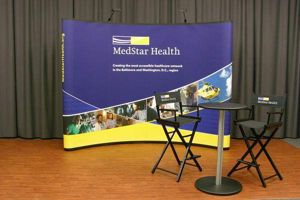 Med Star Health 10 Foot Display