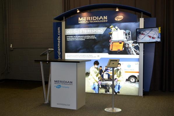 Meridian Medical 10 Foot Display
