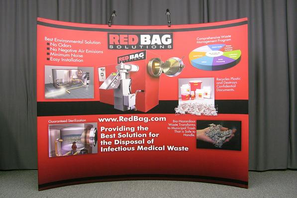 Red Bag 10 Foot Display