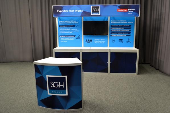 SC&H 10 Foot Display