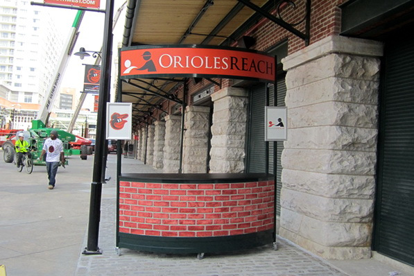 Baltimore Orioles Athletic Display