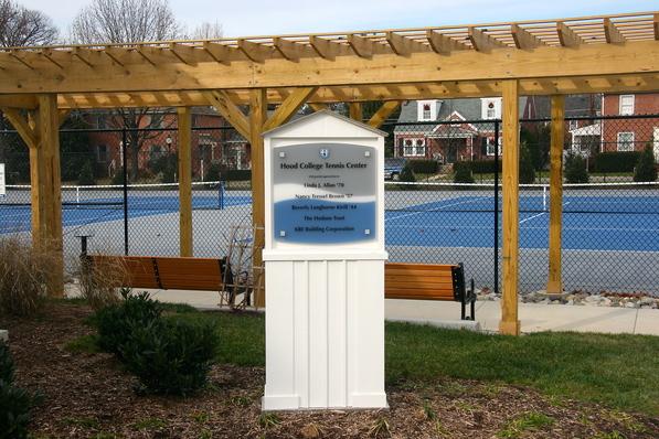 Hood College Athletic Display