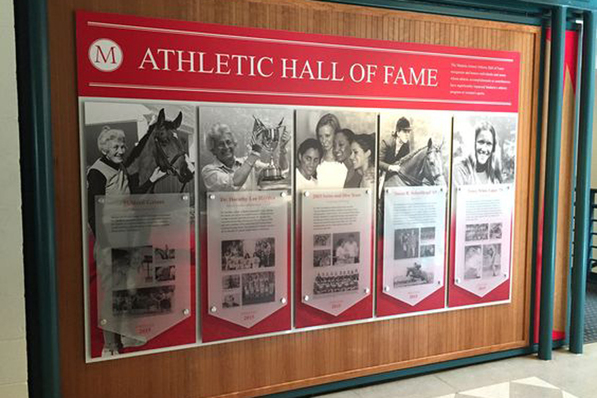 Madiera School Athletic Display