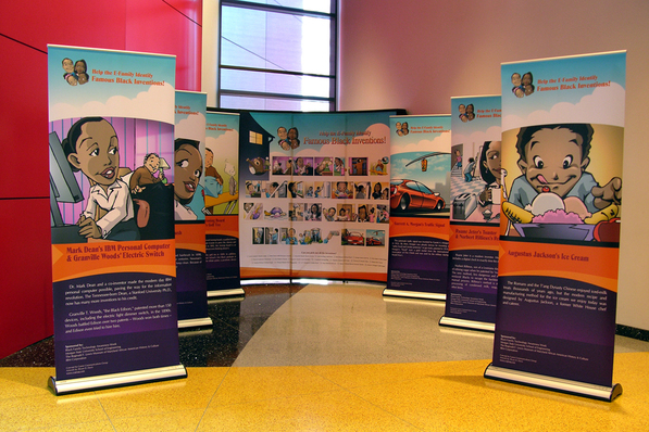 Career Communications Banner Stand