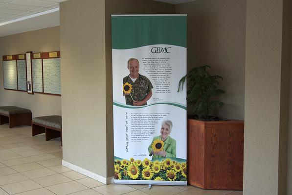 GBMC Banner Stand