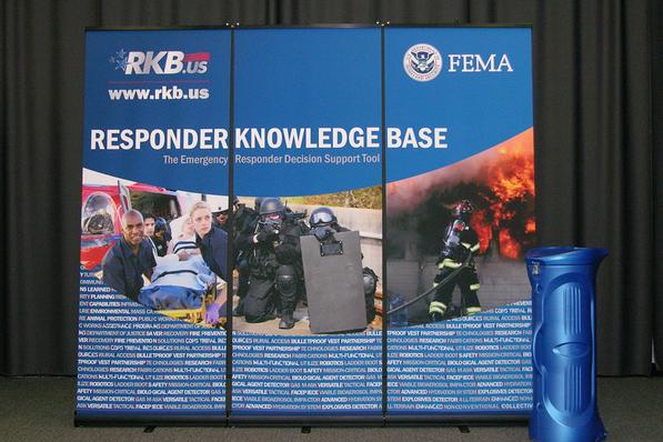 SAIC RKB Banner Stand