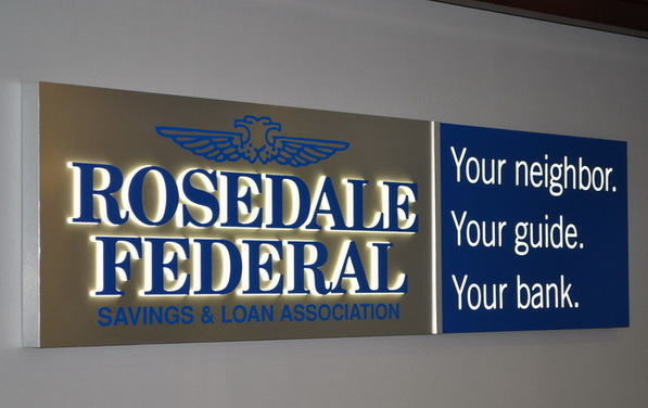 Rosedale Federal sign