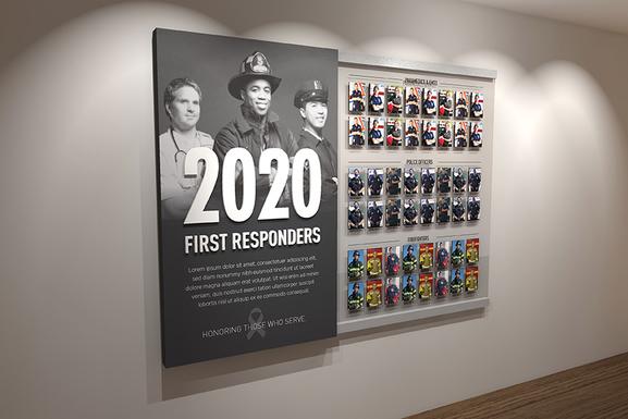 First Responders display