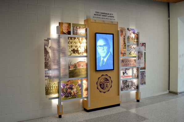Mount Saint Joseph Interactive Display