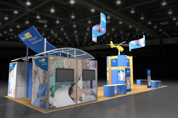 Washington Hospital Island Display