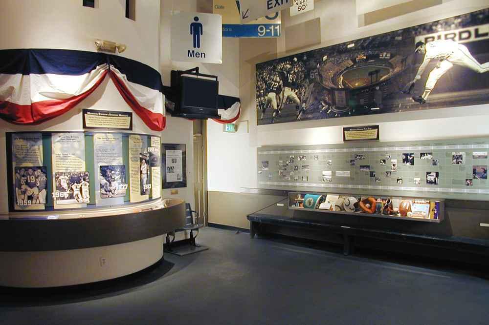 Babe Ruth Museum exhibit