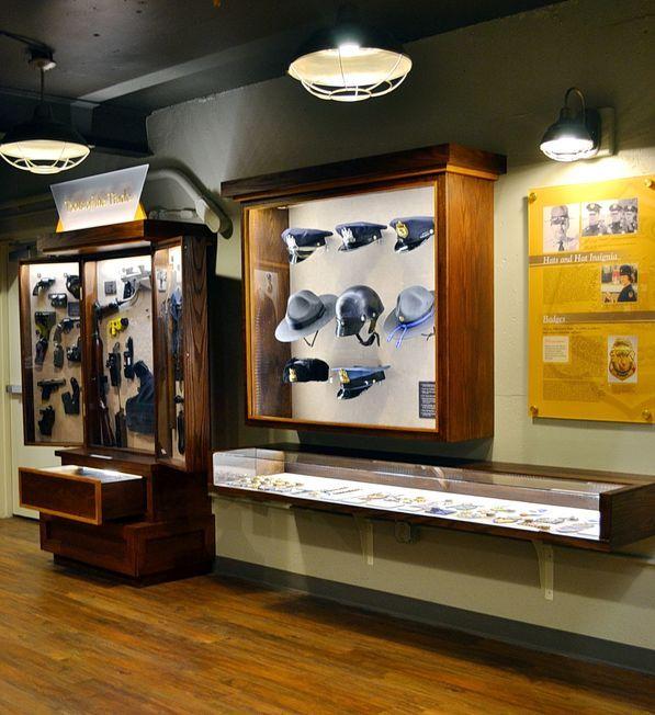 Howard County Police Museum exhibit