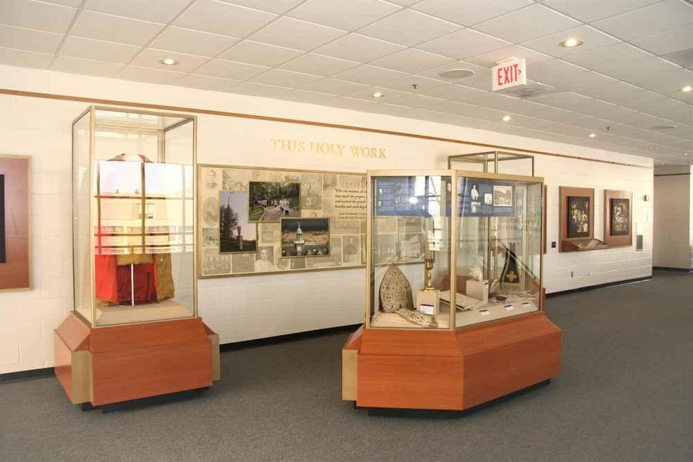 Mt. St. Mary's exhibit