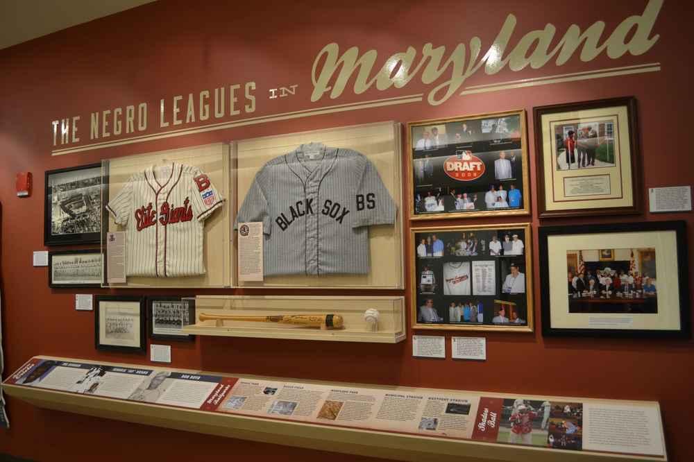 Ruebeling Negro League exhibit