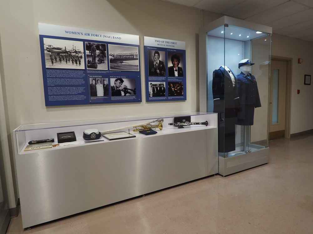 United States Air For Band exhibit