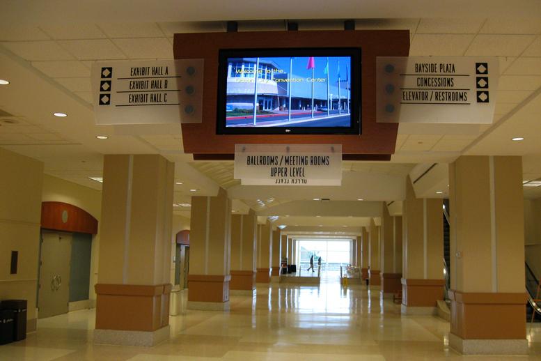 OC Convention Center Signage