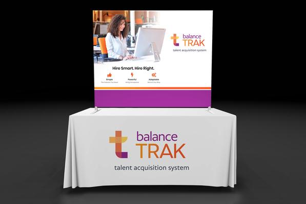 balance TRAK table top display