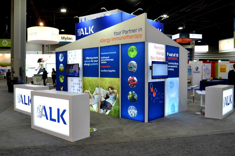 ALK Trade Show Display
