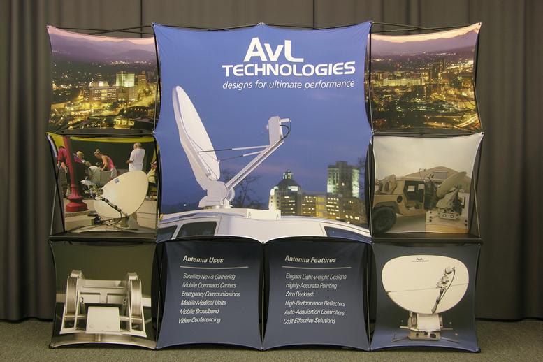AvL Technologies Trade Show Display