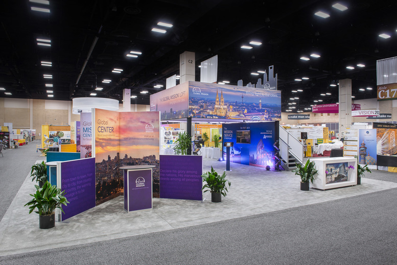 Adventist Mission Trade Show Display