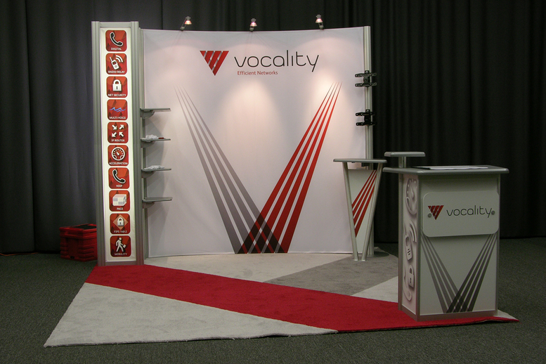 Vocality Trade Show Display