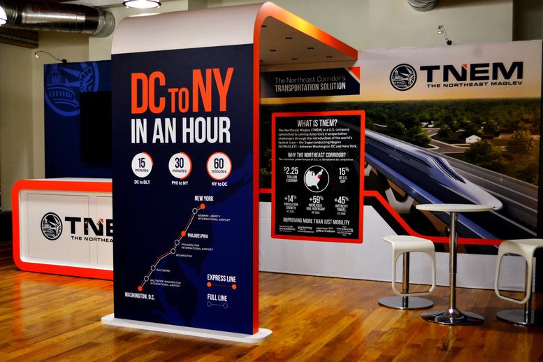 TNEM Trade Show Display