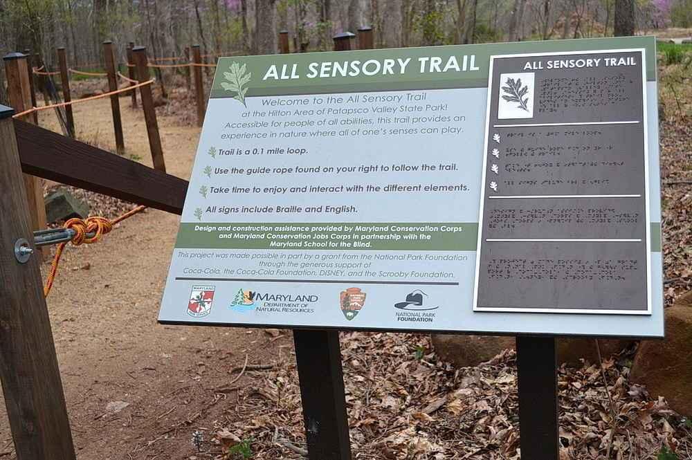 Patapsco State Park All Sensory Trail