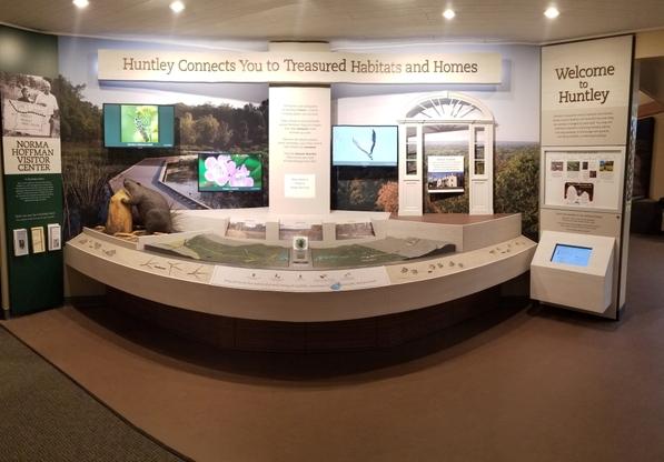 Norma Hoffman Visitor Center exhibit