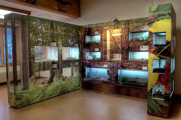 Oregon Ridge Visitor Center Exhibit