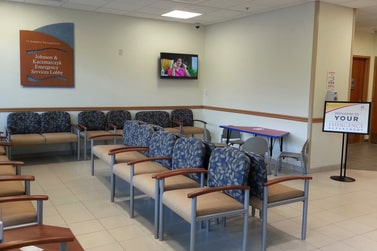 Chester River Hospital waiting room