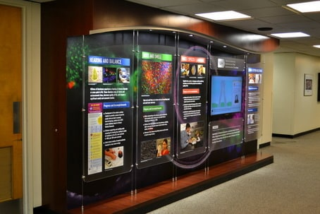 Government Interactive Display for NIH
